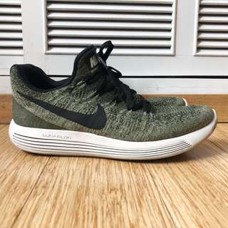 Nike Men's Lunarepic Low Flyknit 2 Green Authentic