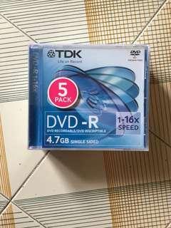DVD-R 4.7GB x5