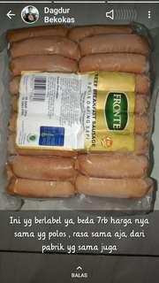 Sosis Feronte dagis sapi halal