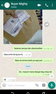 Feedback buyer migthy duck jersey