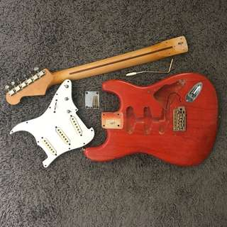 MJT Stratocaster Body and Neck (Made in USA)