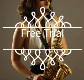 Saxophone free trial first experience