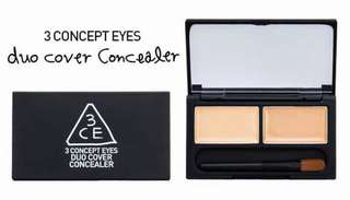 3ce stylenanda duo cover concealer