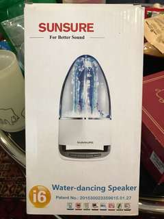 Sunsure water dancing speakers