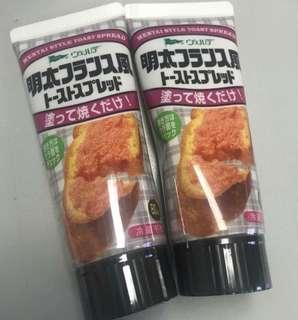 💖現貨💖 日本直送 QP 明太子吐司醬80g - 順豐到付