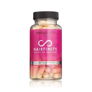 🚚 (PROMO) Direct from USA - Hairfinity Healthy Hair Vitamins 60 Capsules (1 Month Supply)