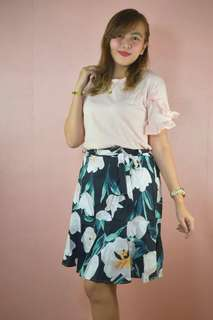 Terno top & skirt/shi