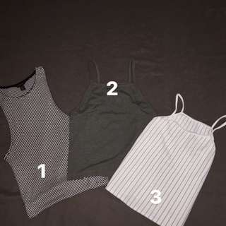 Halter and Tank top bundle