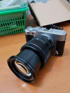 Kamera murrorless Fujifilm xa3 lensa 18-55mm f2.8