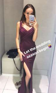 Bridesmaids dress XS worn once