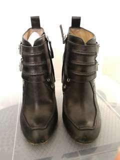 Proenza Schouler Black Booties