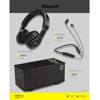 Klipsch GSS Promo