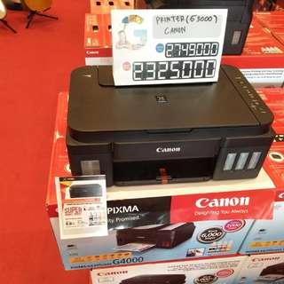 Printer canon g3000 bisa dicicil cepat