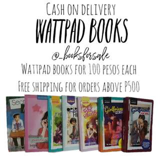 [REPRICED] WATTPAD books for sale!!