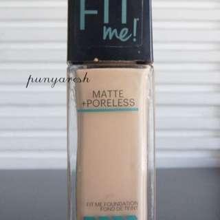 PRELOVED Maybelline FIT ME - 125 Nude Beige