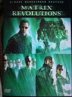 DVD 📀 video Matrix Revolution