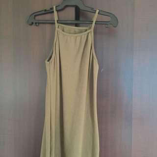 Halter Body Con Dress