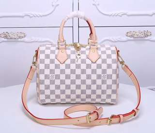 Louis Vuitton Speedy B in Damier Azur