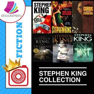 71 Stephen King Novels Collection