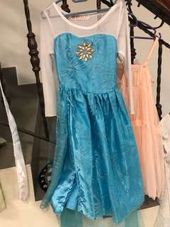 Frozen look alike beautiful kid dress