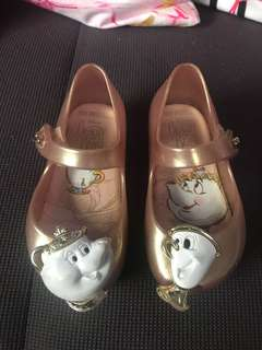 Melissa Beauty & The Beast baby shoes