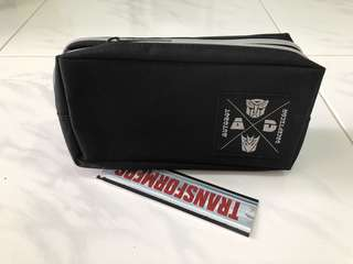 Transformer Soft Pencil case.