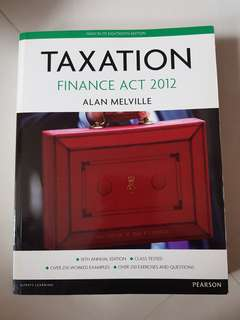 Taxation Finance Act 2012