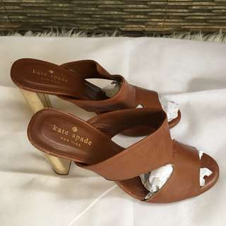 Authentic Preloved Kate Spade Shoes Vero Cuoio Leather Brown Size 7.5