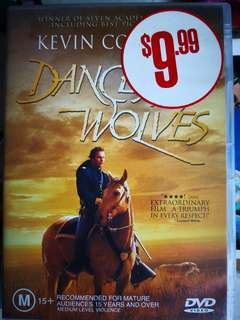 Dances with Wolves DVD 📀 video