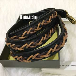 Authentic New Fossil Long Strap Crossbody Neutral Multi