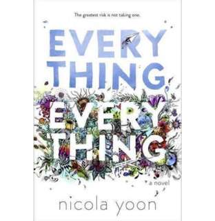 ✨ Everything, Everything - Nicola Yoon