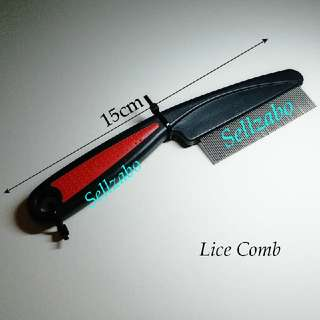 Lice Check Hair Combs : Short : Stainless Steel : Remove : Vanity : Ladies : Girls : Women : Female : Mens : Guys : Male : Boys : Accessories : Black Colour : Design : Beauty : Tools : Heads : Sellzabo