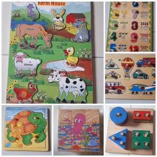 Educational Wooden Puzzles