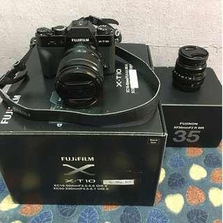 FUJIFILM XT-10 + 35mm f2