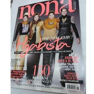 Majalah Nona Jun 2012 - cover Norjuma, Abby Abadi, Irma Hasmie, Natasha Hudson