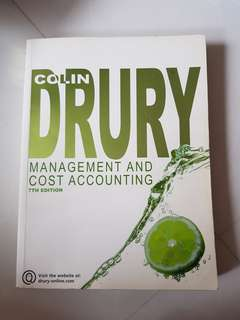 DRURY Management & Cost Accounting