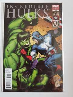 Incredible Hulks #624 variant cover