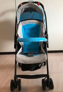 Combo Type A Well Comfort Stroller WT-250D)(1-36months old)