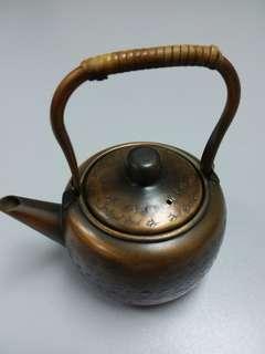 Tea Pot  古老銅水壼 日本造