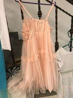 Lace dress for children