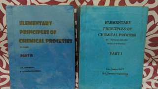 📚Elementary Principles of Chemical Process by Felder