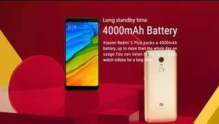 Xiaomi redmi 5 plus ori new in sealed box