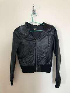 Leather jacket - jay jays