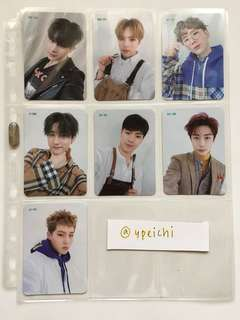 [WTS] Monsta X The Connect PreOrder Benefit Member Full Set PC