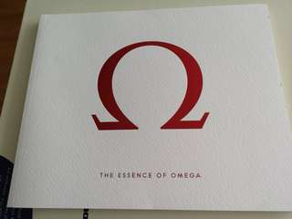 Omega chinese booklet