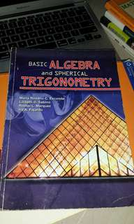 Basic Algebra and Spherical Trigonometry