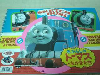 THOMAS the tank engine and friends sketch book
