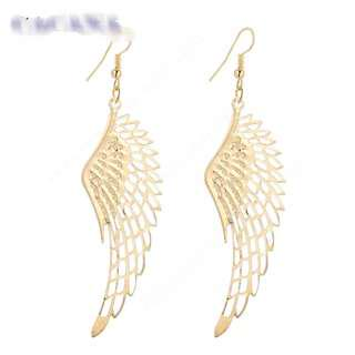 Angel wing ear rings