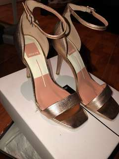 "DOLCE VITA - ""Halo"" Rose Gold Heel"