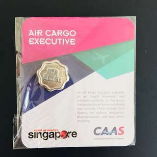Air cargo executive pin badge